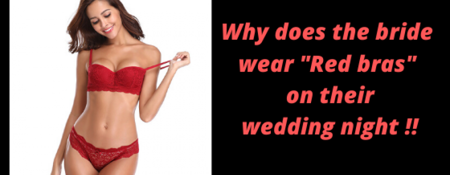 Why does the bride wear