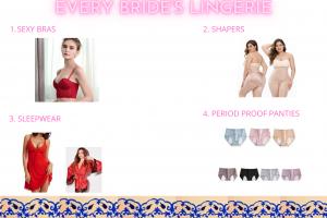Every Bride's essentials