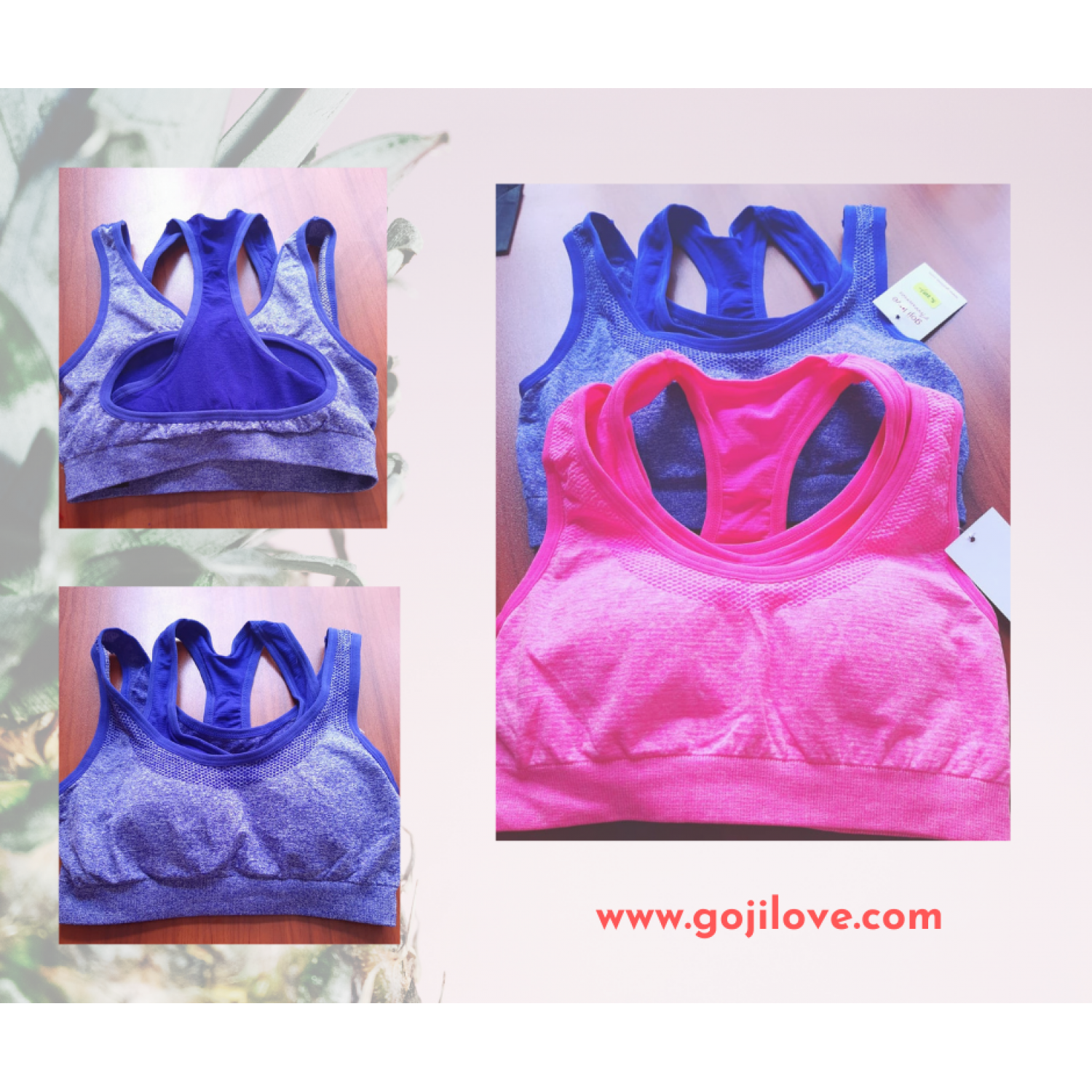 a Sports bra - Gojilove light sports bra