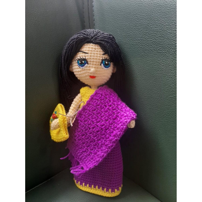 Handmade dolls- Manipuri Bride