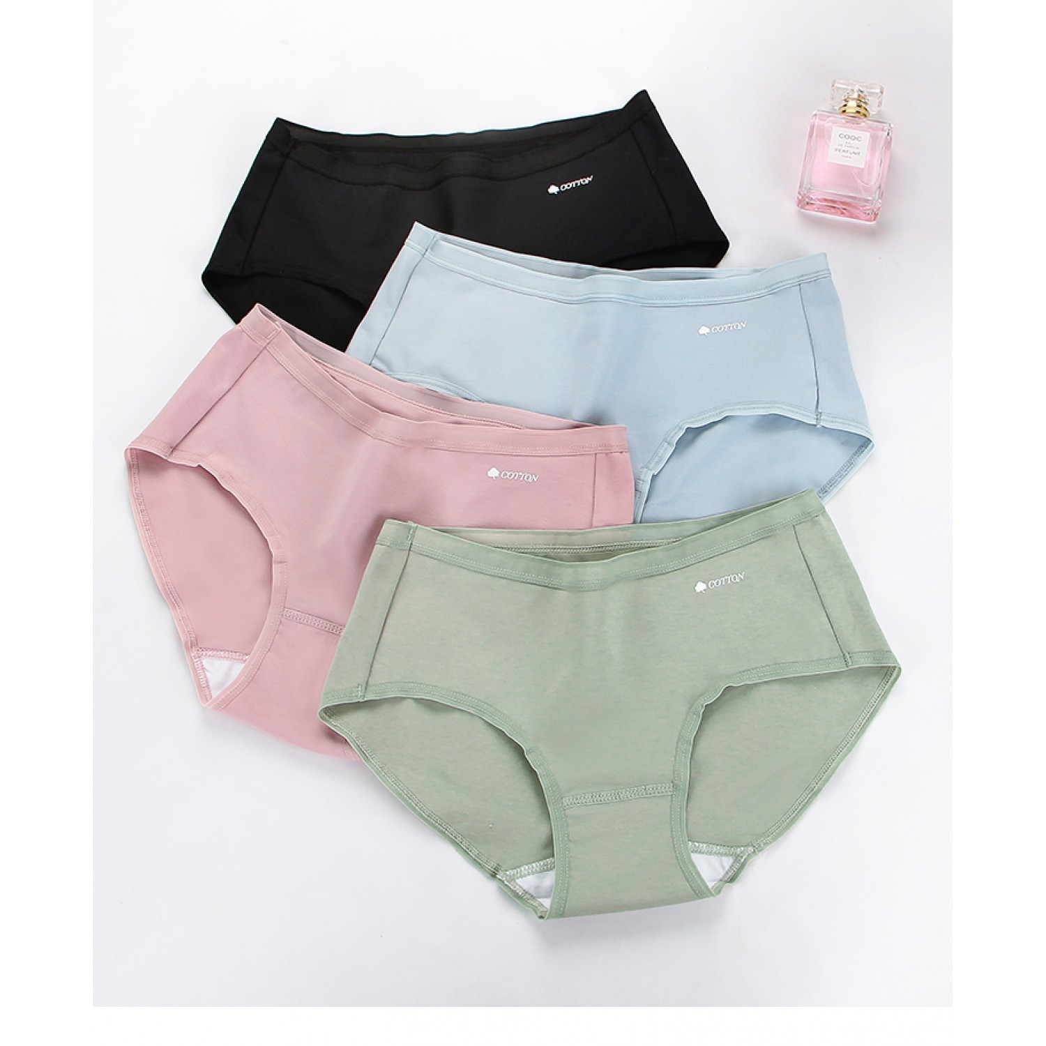 Goji cotton panties - combo of 3