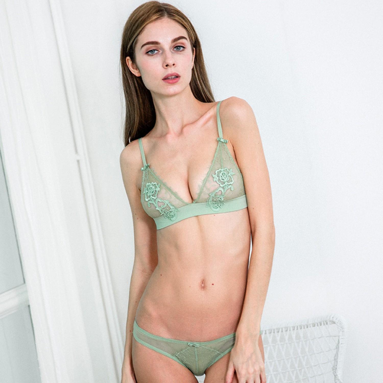 bd301dbf54da2c Boho boudoir Bralette set with panties