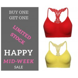 Gojilove butterfly bralette- Buy one get one offer