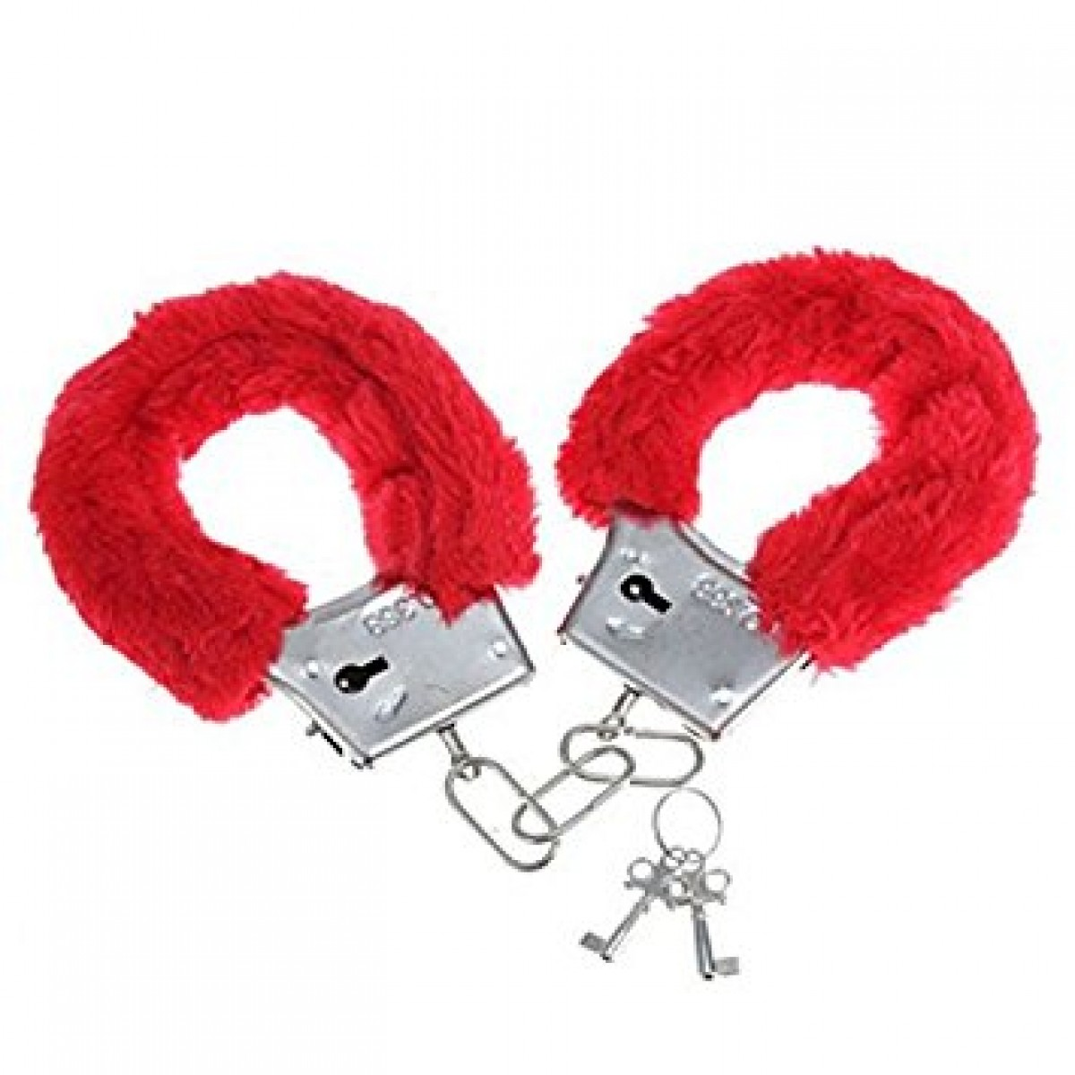 Gojilove love more handcuffs- RED