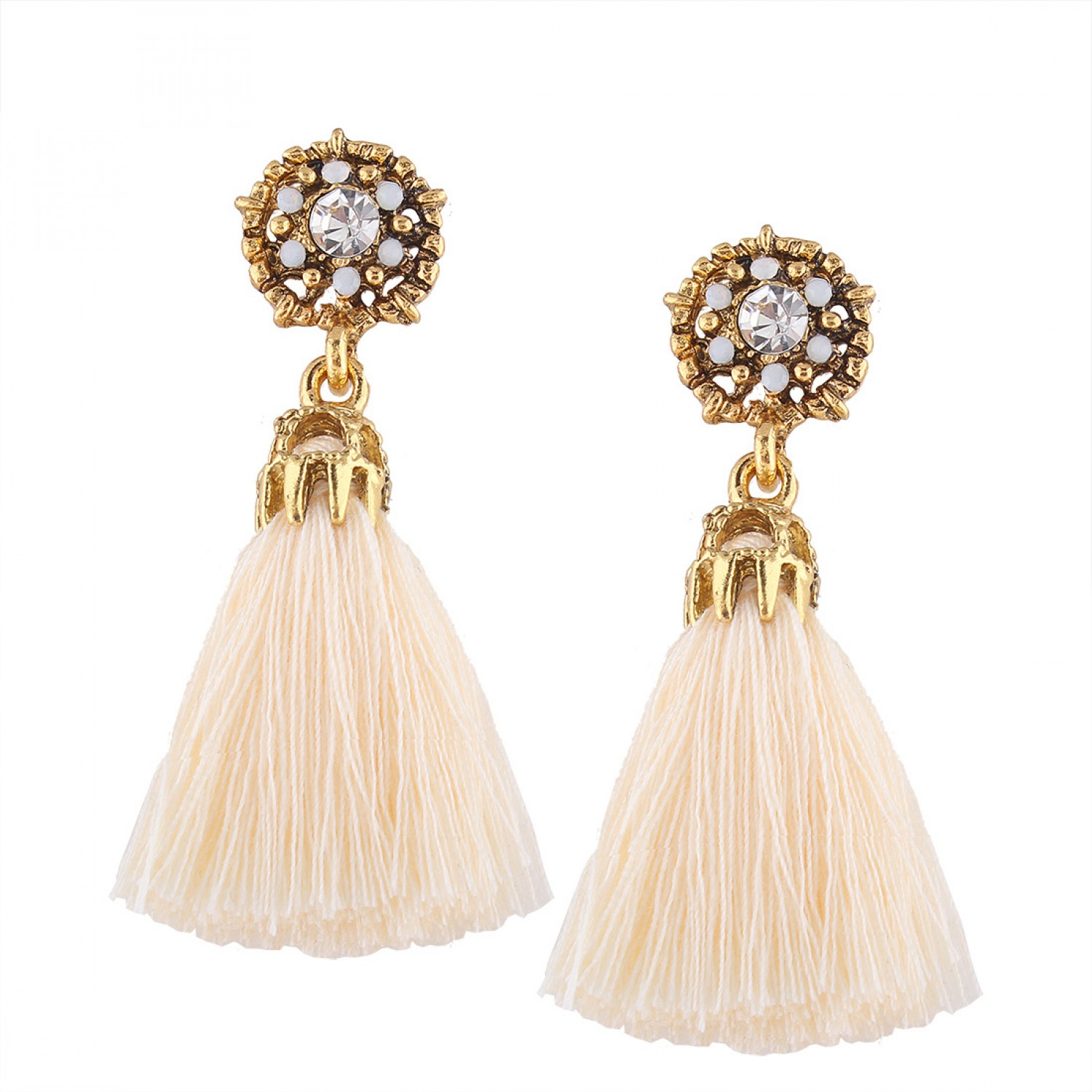 """Vintage say it loud"" Tassel earring"