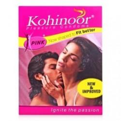 Kohinoor Pleasure Condoms -  2 *Pink 10s