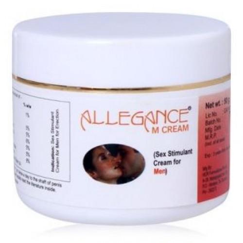 Allegance M Sex Stimulant Cream for Men
