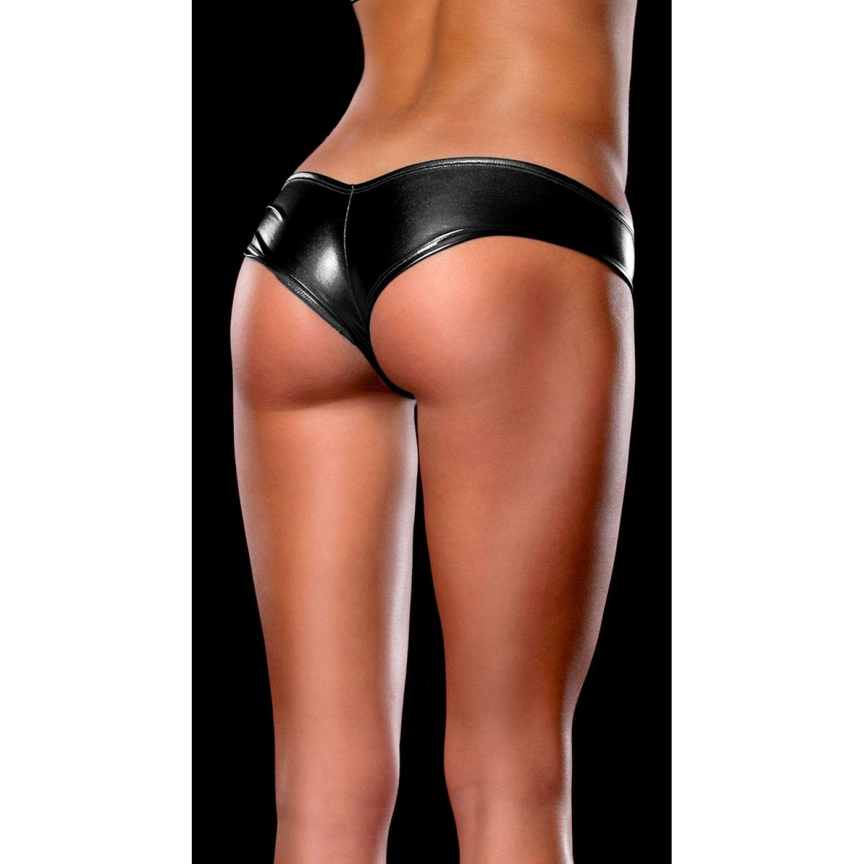 Sexy G string  Metallic Shorts
