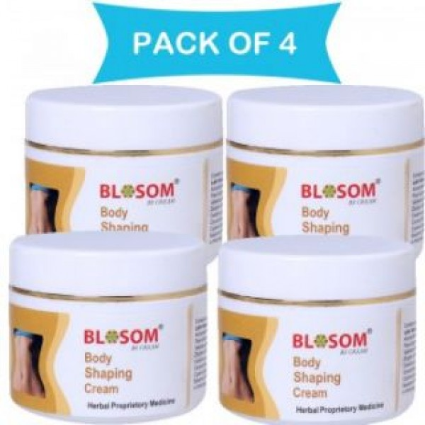 Body shaping cream : Blosom Body Shaping, Slimming and Toning Cream (Combo Pack of 4 bottles)