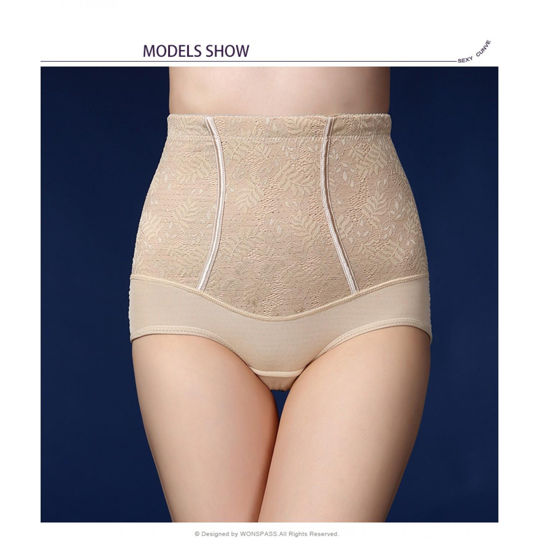 Gojilove Super elastic force corset soft waist trainer high waist body shaper shorts