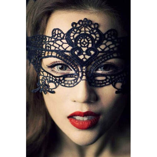 Gojilove Masquerade Party Black/ white Lace Mask