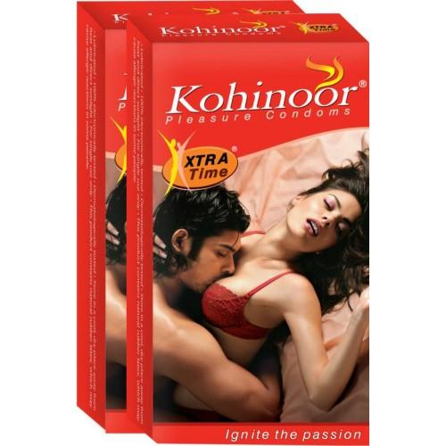 Kohinoor Pleasure Condoms -1*Pink condoms +1 Extra time