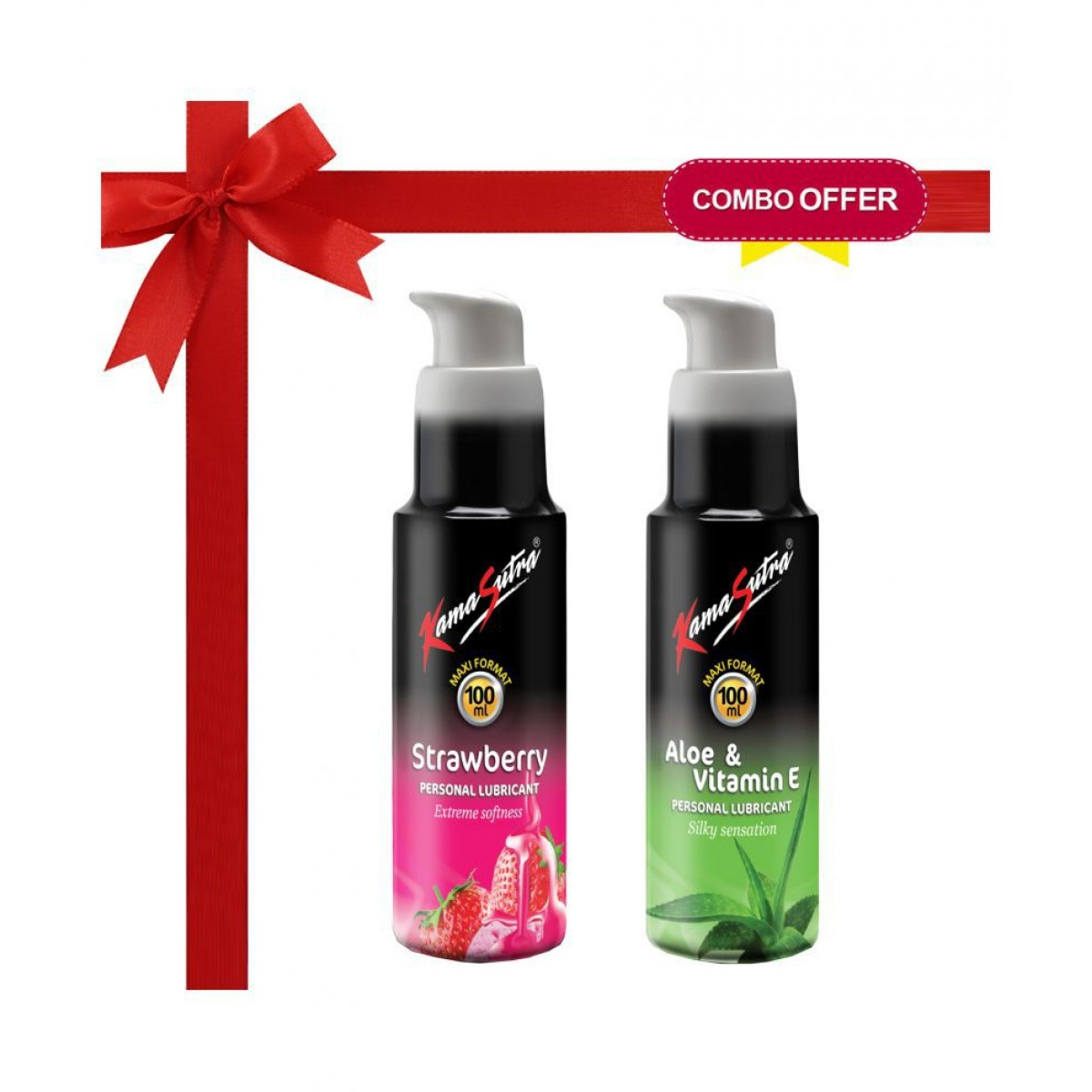 LUBES- Combo of Kamsutra (any 2 flavour 50ml)