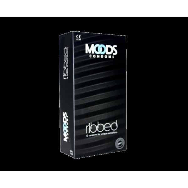 Moods Premium Ribbed 12's