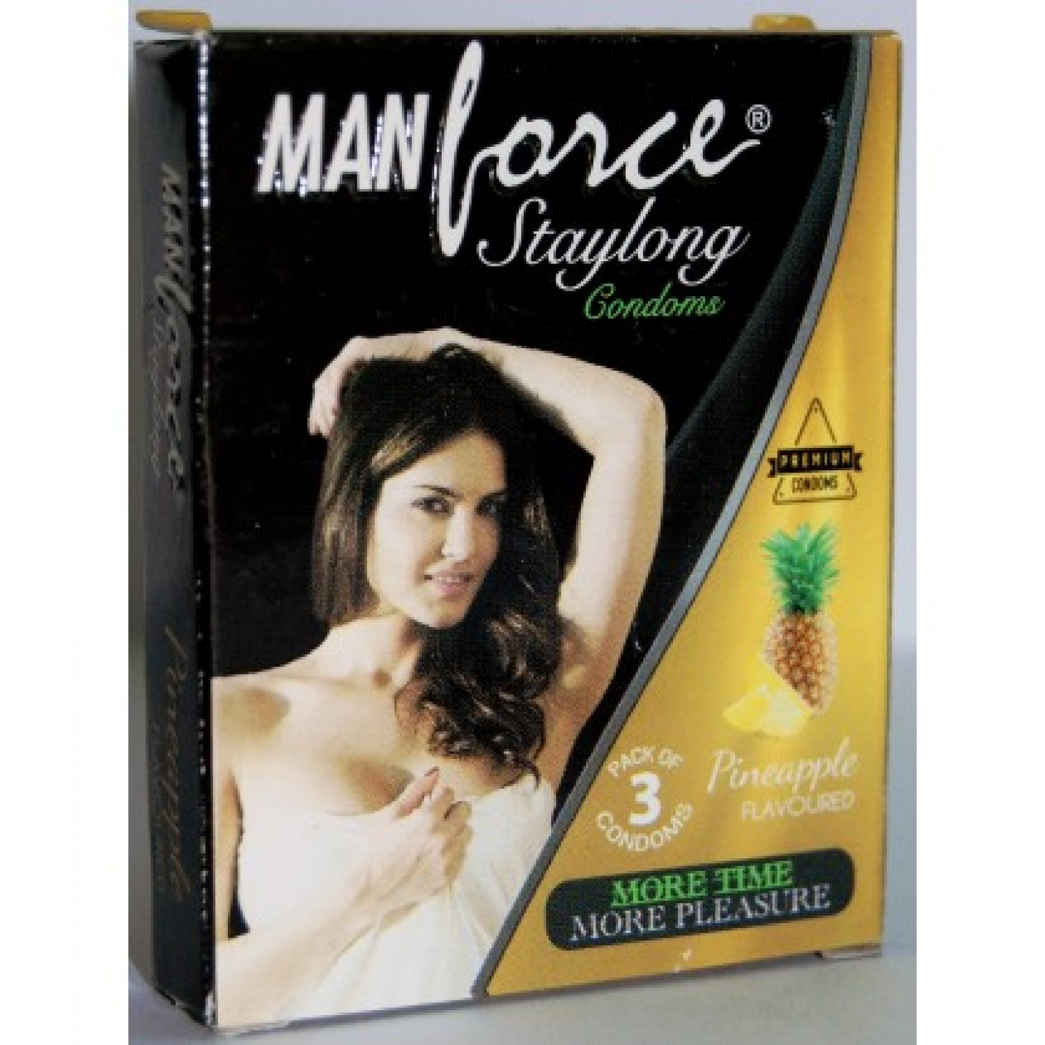 Manforce Pineapple Flavoured Condoms- 2 Pack of 10