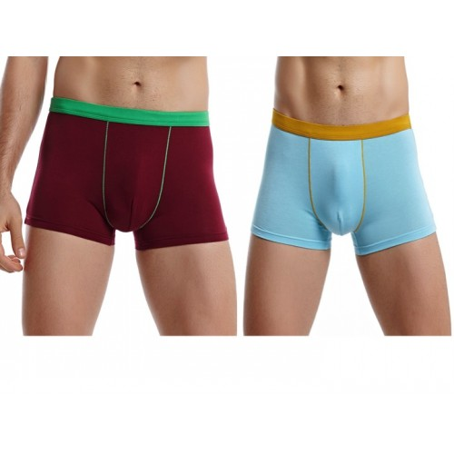 gojilove color block boxer -pack of 2