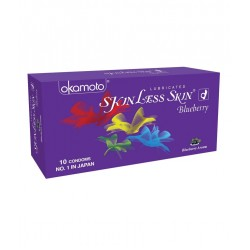 Okamato Blueberry flavored condoms (4 Packs of 10s)