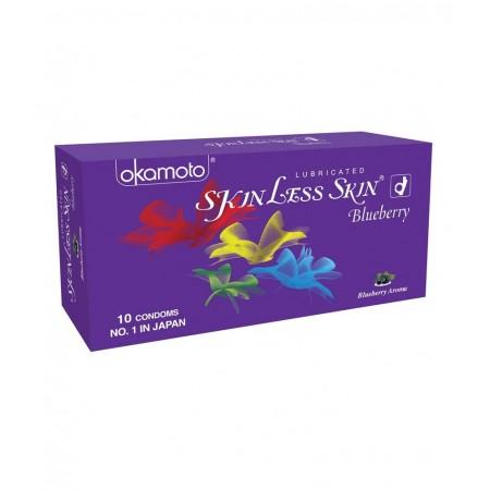 Okamato Blueberry flavored condoms (4 Packs of 10s)